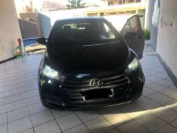 Hyundai HB20 1.0 2017 preto + jogo de rodas
