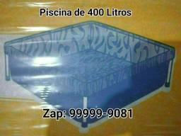 Piscina armação de ferro 400 Litros
