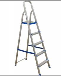 Escada Aluminio 5 degraus nova valor 140 reais Divinopolis