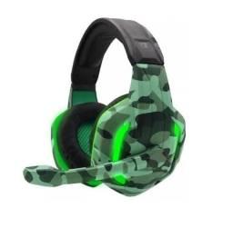 Headset Gamer Camuflado Tecdrive
