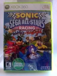 Sonic & Sega All-Star Racing com Banjo-Kazooie XBOX 360