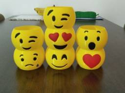 Vasinhos decorativo Emoji