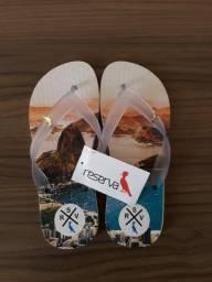 Lindas sandálias reserva