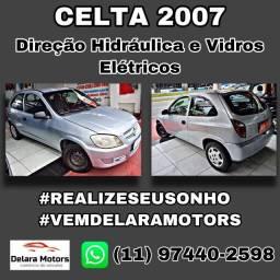 Celta 2007 com direção Hidráulica