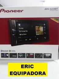 "Dvd Player 2 Din Automotivo Pioneer Avh-G228Bt Tela 6.2"" Bluetooth Top - Me Liga"