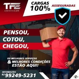 Título do anúncio: TFE Logística - Transporte Manaus e Interiores