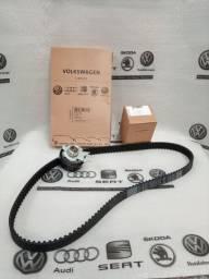 Kit Correia dentada +Tensor da correia , originais Volkswagen .