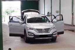Hyundai Santa Fé 2014 V6 4x4 Fipe 88.100 Troca caminhão