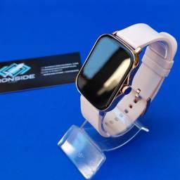 Smartwatch P8 Plus Dourado Lançamento