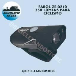 Farol para Ciclismo 350 Lumens - Recarregável USB