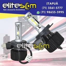 Ultra Led E-tech 8000k 4800 Lúmens instalado na Elite Som