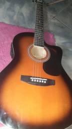 Vendo violão  elétrico semi novo (ainda n foi usado)