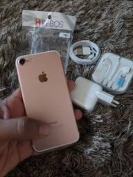 Vendo ou Troco IPhone 7 128 GB Novo + Capa e Película brinde (Aceito Cartão)