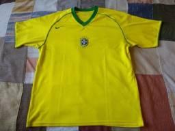 Título do anúncio: camisa seleção brasileira nike 2005