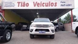 Título do anúncio: TOYOTA HILUX SRV AUTOMÁTICA ANO E MOD 2018 EXTRA NOVA( LOJA TIÁO VEÍCULOS CARPINA PE)