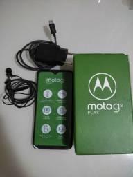 Celular semi-novo Motorola G8 Play