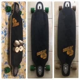 Skate Longboard Sector 9 - débito e crédito