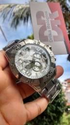 Título do anúncio: Relógio atlantis legacy prata inoxidável