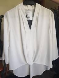 Blusa Social Branca ENZO