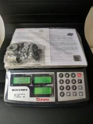 Balança Urano Pop-s 31 Kg. Bateria / Autorizada Inmetro / NOVA NUNCA USADA