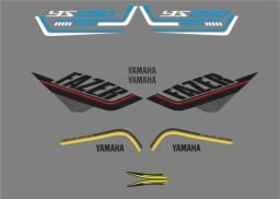 Adesivos para Yamaha FAZER 250 ( Leia a discrição)