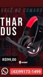 Headset Gamer Evolut Thoth Eg305 rd