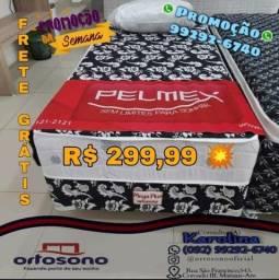 Título do anúncio: Cama box solteiro Pelmex - Espuma Macia