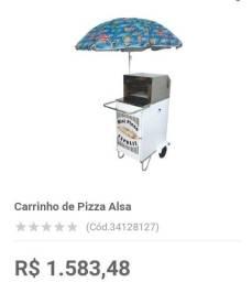 Carrocinha de pizza