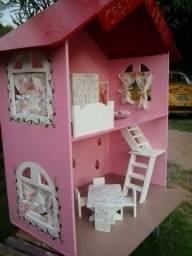 casinha de boneca, casinha de mdf, bonecas, brinquedos