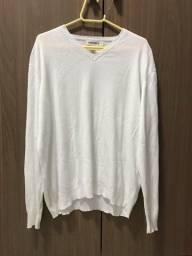 Blusão Pulôver Calvin Klein Branco