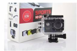 "Câmera Esportiva Sports HD Dv 1080P H.264 Full HD 30m À Prova D'água 2.0""LCD Screen"