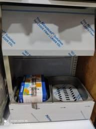 Conservador de Frituras 2 cubas inox - Metalcubas - Produto NOVO - Vix equipamentos