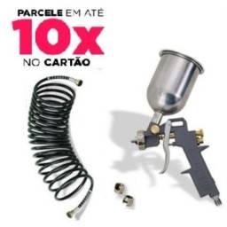 Título do anúncio: Kit Pistola. de pintura e Mangueira Schulz