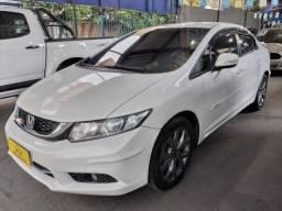 Título do anúncio: Civic LXR 1.8 Aut.-2016+ GNV