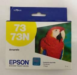 Cartucho Epson Original 73N Amarelo Lacrado