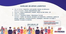 Título do anúncio: Vaga para Auxiliar de Logística São Carlos SP