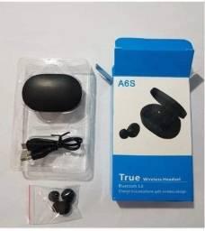 Fones de ouvido Bluetooth A6S