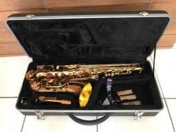 Saxofone Alto Dolphin. Por favor leia a descrição !