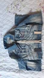 Jaqueta jeans tam pp 34/36