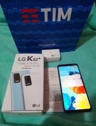 LG k62+ plus na caixa novo