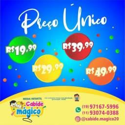 Moda Infantil # Preço ÚNICO