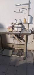 Interlok máquina de costura