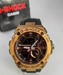 Relógio G-Shock Steel Light Cobre <br>