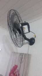 Ventilador de parede sem uso