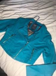 Jaqueta de courino