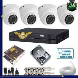 Título do anúncio: Câmeras De Segurança câmeras intelbras