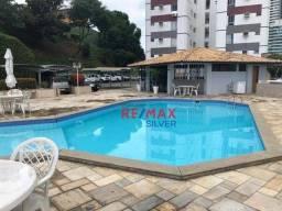 Apartamento com 3 dormitórios para alugar, 90 m² por R$ 1.400/mês - Rio Vermelho - Salvado