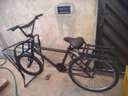Bike de carga pneu novo toda no rolamento 440,00 aceito cartão de crédito