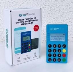 Título do anúncio: Maquininha de Cartão Point Mini Bluetooth Modelo ME30S Visor Luminoso Promoção<br>