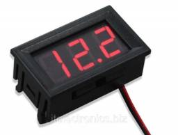 Título do anúncio: Mini Voltímetro Digital Medidor de Bateria